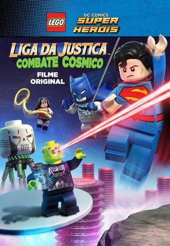 Liga da Justiça Lego: Combate Cósmico - Justice League: Cosmic Clash